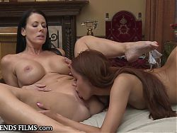 Redhead Teen Virgin Seduced By Older Woman